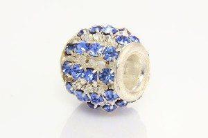 French Blue Diamante Barrel