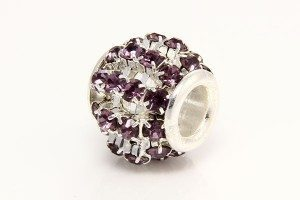 Purple Diamante Barrel