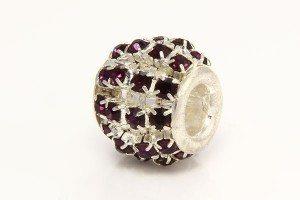Deep Purple Diamante barrel