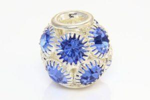 Pattern Studded Pandora Style Beads