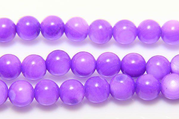 Purple Tint Natural Shell