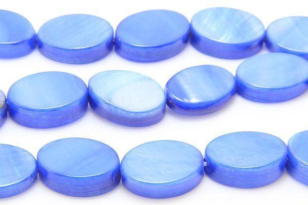 Azure Blue Tint Natural Shell
