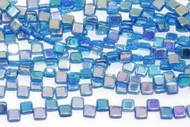 2 Hole Czech Glass