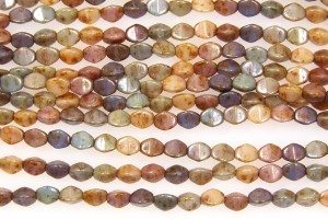 Opaque Lustre Mix Pinch Beads