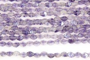 Crystal Lilac Lustre Pinch Beads