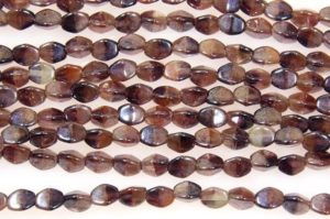 Lustre Sienna Pinch Beads