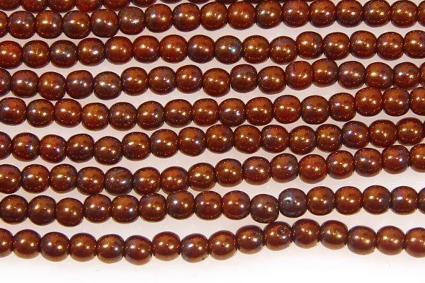 Bronze Round Beads