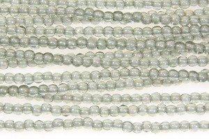 Soft Green Round Beads
