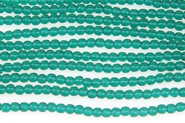Emerald Round Beads