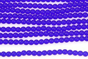 Royal Blue Round Beads