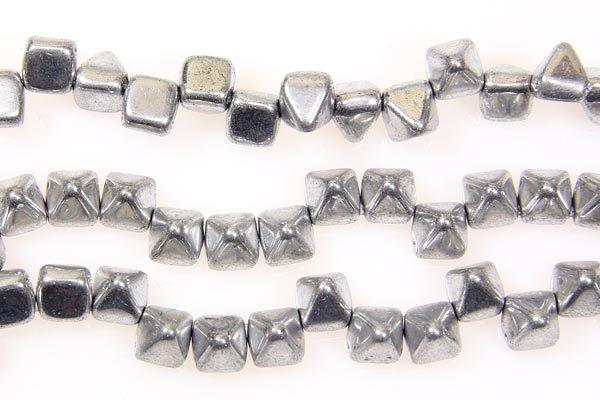 Silver 2-Hole Pyramid