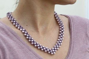 Lilac Elegance Necklace
