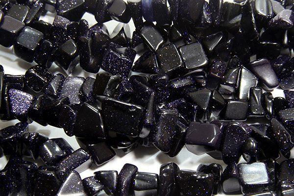 Blue Goldstone Chips