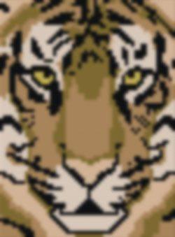 Arazzo Tiger Face Kit