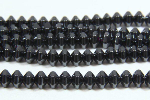 Hematite Natural Bicones