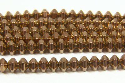 Hematite Bronze Bicones