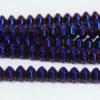 Hematite Electric Purple Bicones
