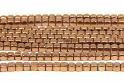 Bronze Rounded Hematite Cubes