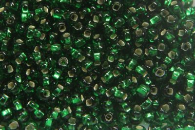 Silver Lined Emerald in Resealable Tube