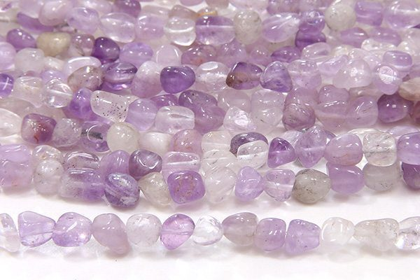 Lavender Amethyst Gemstone Pebbles