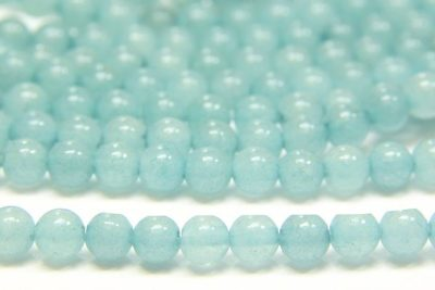 Peppermint Quartz 4mm Gemstone Round
