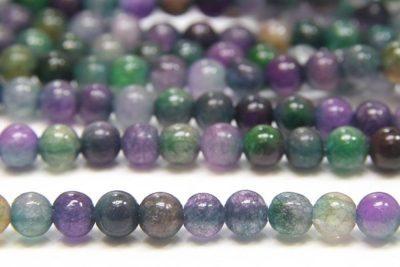 Berry Agate 4mm Gemstone Round