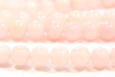 Rose Quartz 8mm Gemstone Round