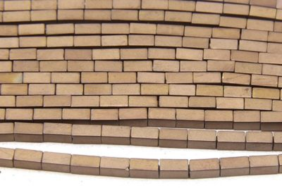 Matte Bronze Hematite Bricks
