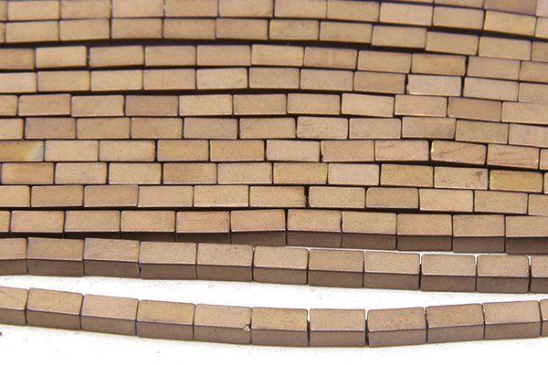 Matte Bronze Hematite Bricks