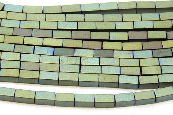 Matte Bluegrass Hematite Bricks