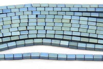 Matte Lagoon Hematite Bricks