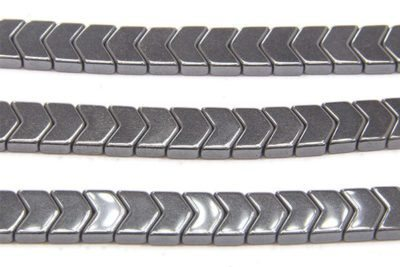 Natural Hematite Chevrons