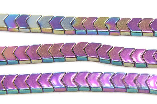 Rainbow Hematite Chevrons