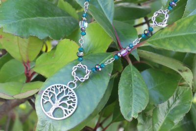Tree of Life Necklace and Bracelet Set