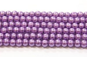 Orchid Purple Glass Pearl
