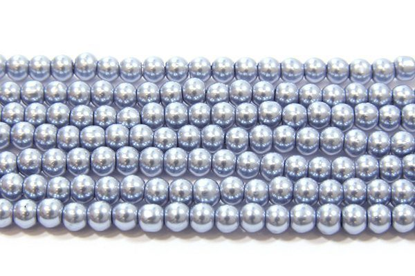 Arctic Blue Glass Pearl