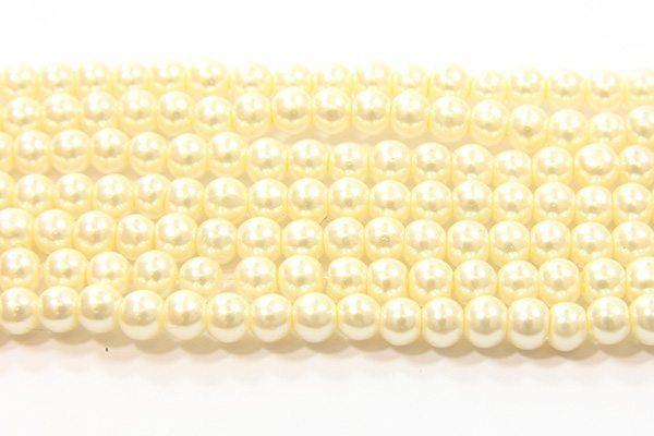 Cream Glass Pearl