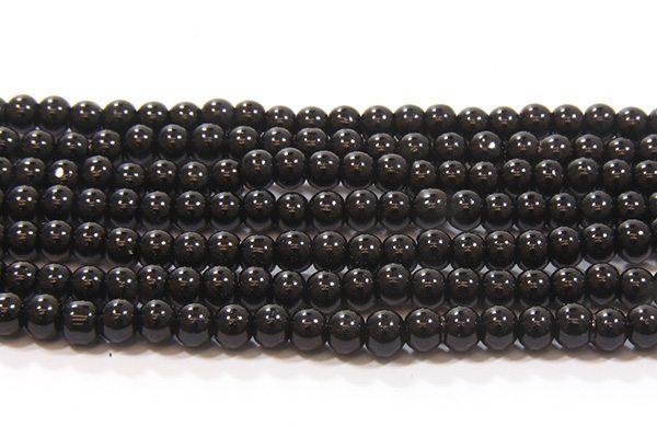 Black Glass Pearl