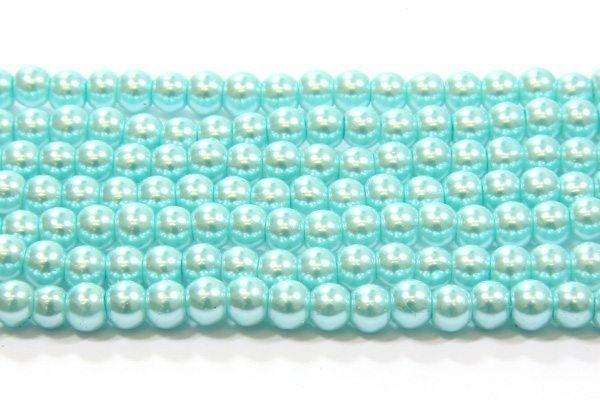 Elsa Green Glass Pearl
