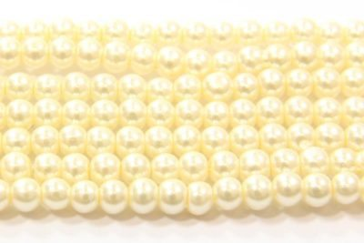 Cream Glass Pearl