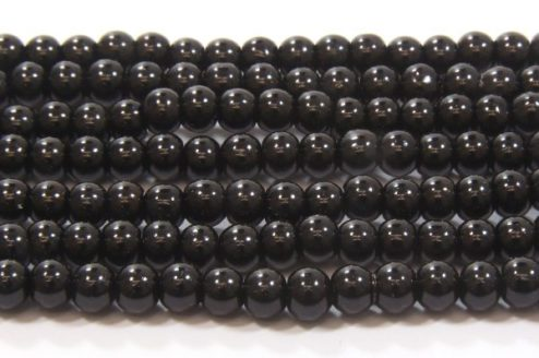 Black Glass Pearl