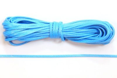 Sky Blue Slinky Ribbon Cord
