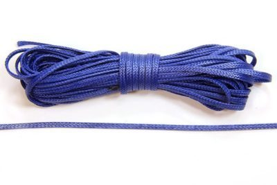 Navy Blue Slinky Ribbon Cord