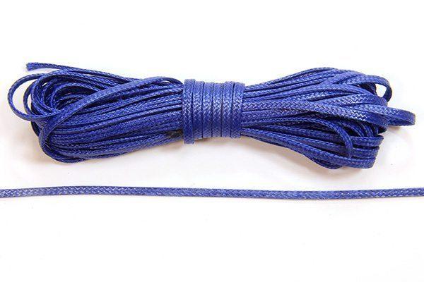 Navy Blue Slinky Ribbon Cord