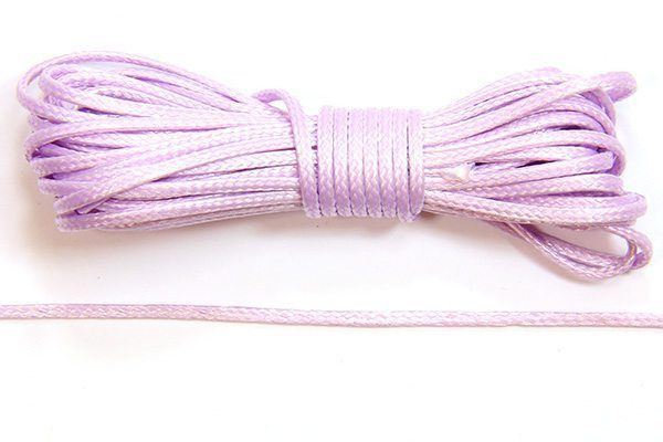 Lilac Slinky Ribbon Cord