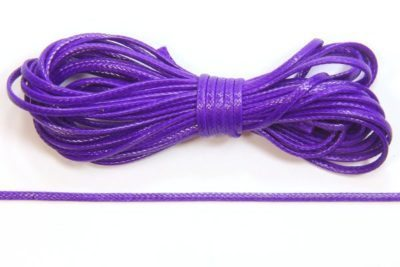 Royal Purple Slinky Ribbon Cord