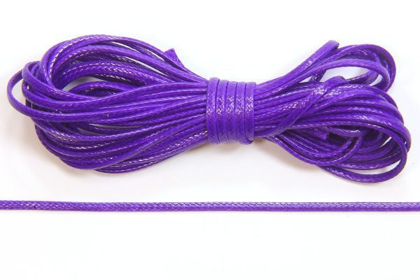Royal Purple Slinky Ribbon Cord