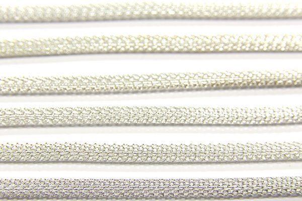 Silver Woven Chain