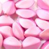 Princess Pink Satin Oval