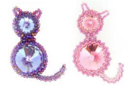 Crystal Kitty Cat
